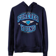 Sudadera-Forever-Young-Azul