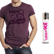 camiseta-forever-young-morada-mechero