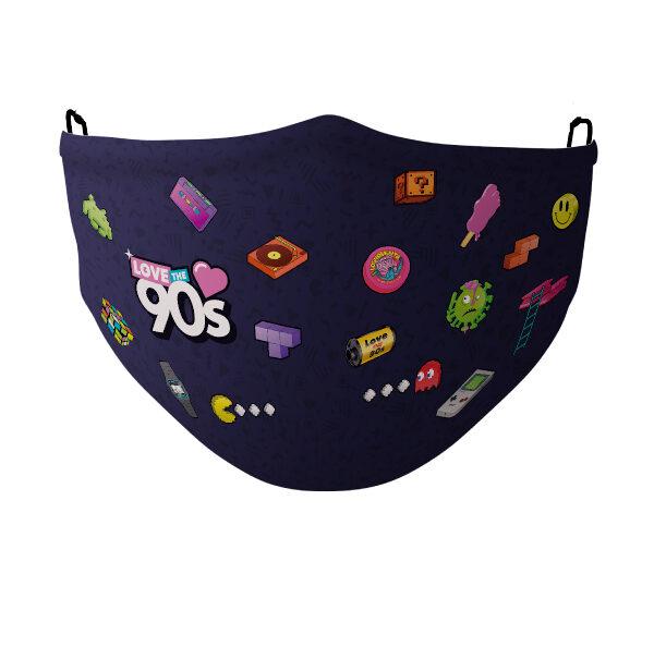 mascarilla love the 90's